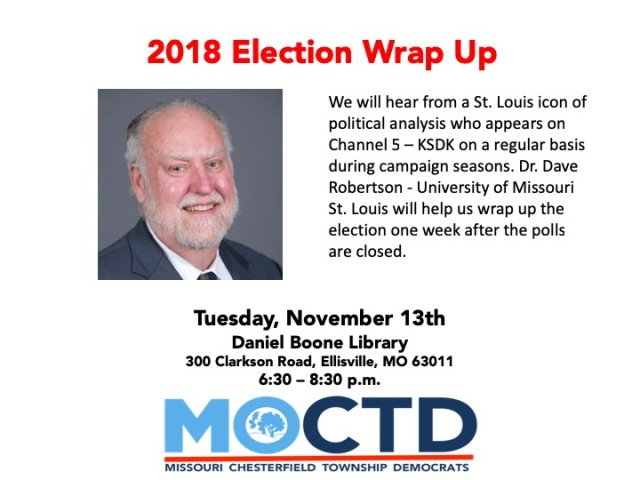Nov 2018 Monthly Meeting - Election Wrap Up