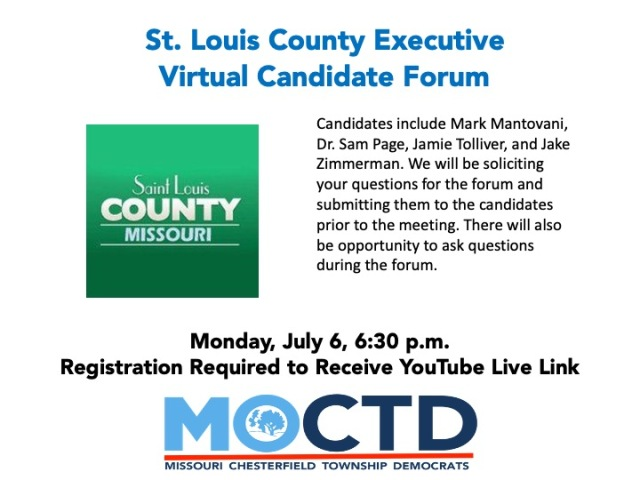 July 2020 Meeting - CTD - County Executive Forum - No Link